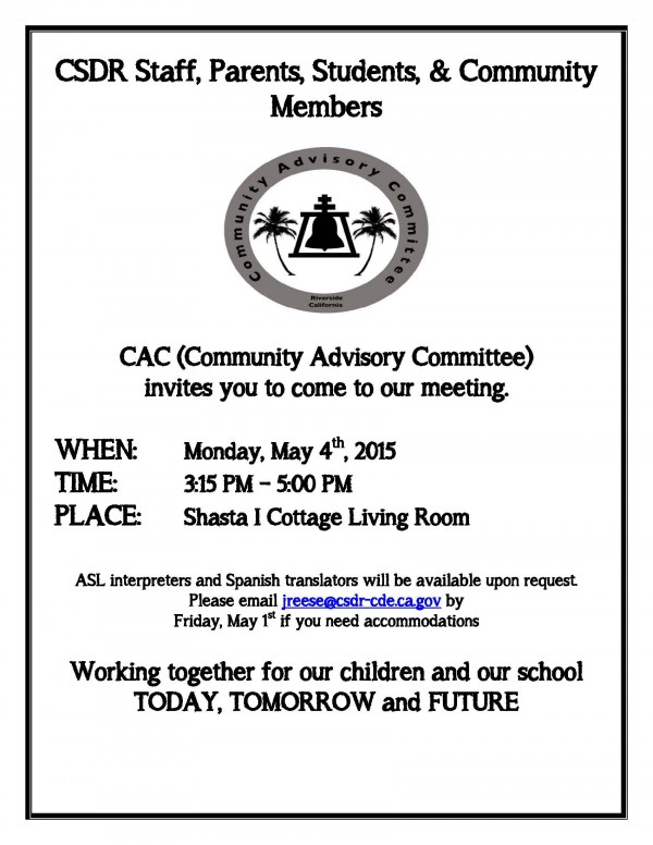 CAC meeting flyer - May 4_Engl