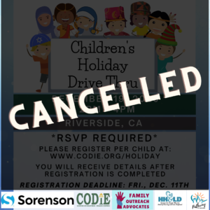 Cancelled Children's Holiday