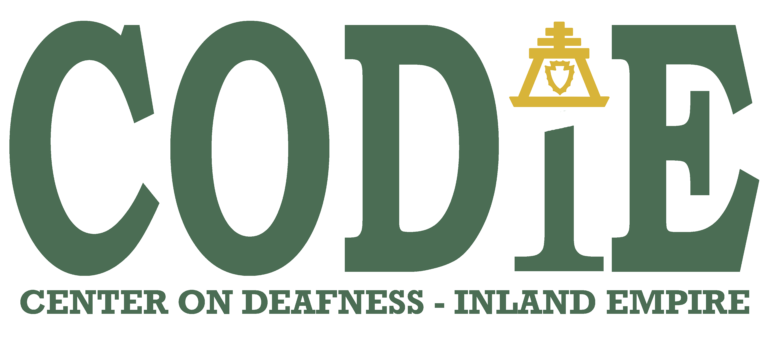Center On Deafness Inland Empire Logo
