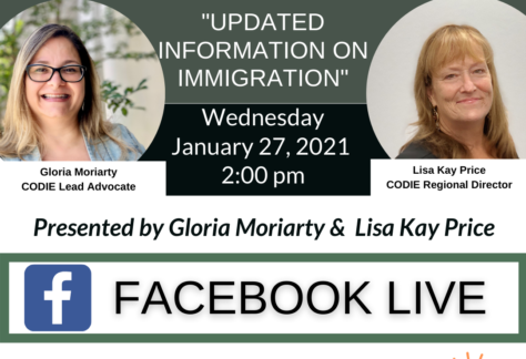 Updated Information on Immigration