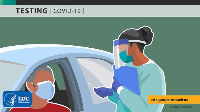 Consider getting tested for #COVID19, regardless of your vaccination status, if you think you've been exposed or if you have symptoms. Some fully vaccinated people can still spread the Delta variant. Find testing locations near you: https://bit.ly/3gmWGhp